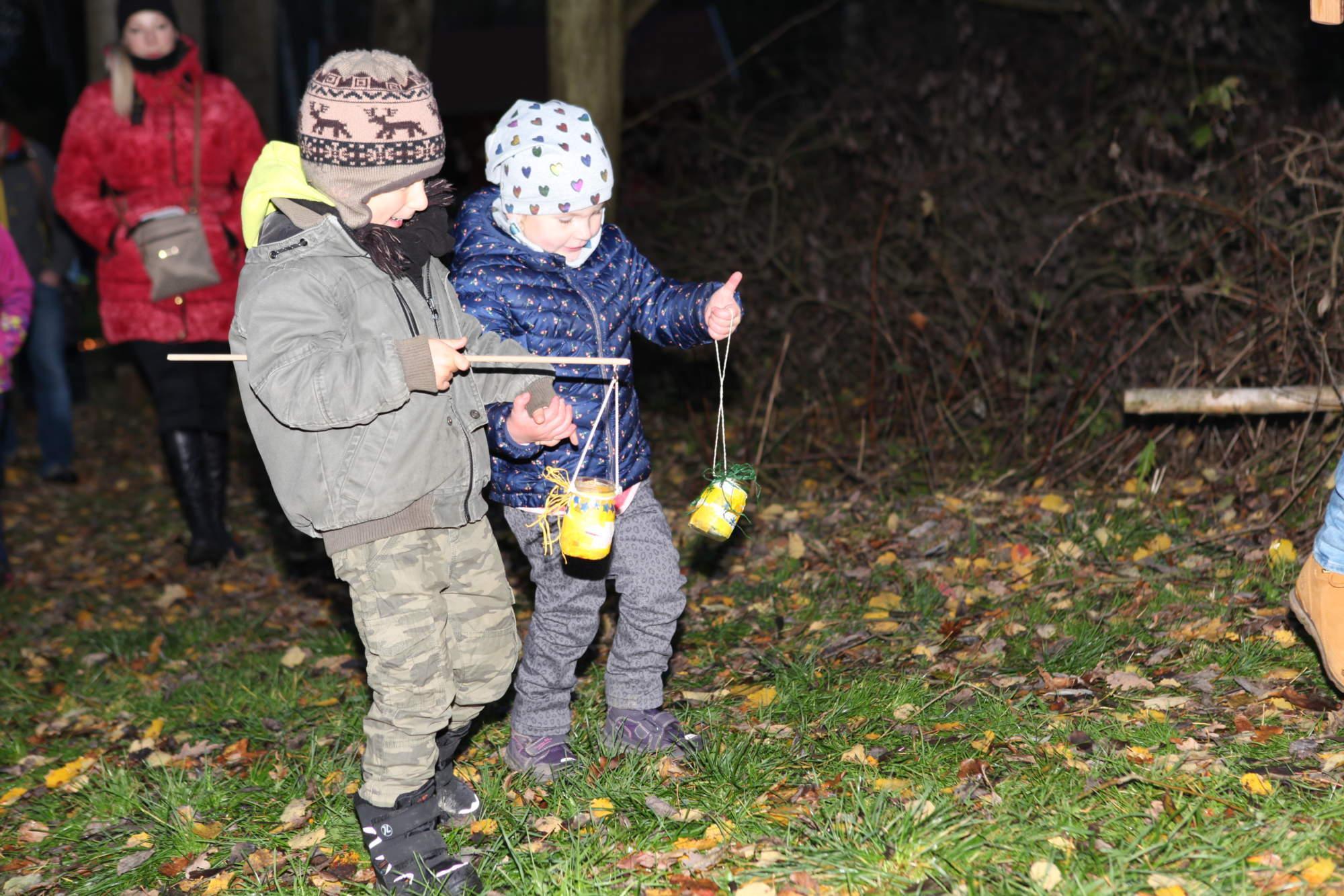 Martin děti lucerny